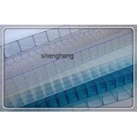 Quality top quality pc hollow transparent roofing sheet/polycarbonate skylight roof sheet for sale