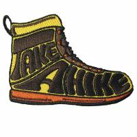 Quality Shoes Fruits Kids Custom Iron On Cloth Patches Folk Art Style for sale