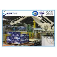 Quality Chaint Palletizing Robot Arm Intelligent System With Wooden Box Package for sale