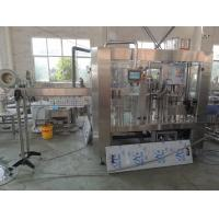 Quality Fully Automatic Juice Filling Machine 4000BPH For Round PET Bottle for sale