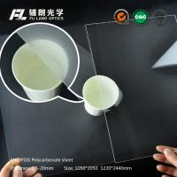 Quality Anti Fog Scratch Resistant Acrylic Sheet , Acrylic Polycarbonate Sheets for sale