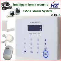 China CID uploading to CMS wireless home PSTN alarm GSM security alarm system on sale