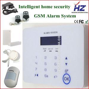 China gsm burglar alarm anti theft wireless house security alarm system on sale