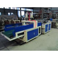 Quality Biodegradable Plastic Bag Making Machine , Carry Bag Making Machine 160-320pcs / Min for sale