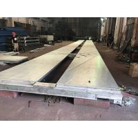 Quality Hot Dipped Galvanized Heavy Duty Weighbridge Scale Test Truck Modular Movable for sale