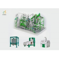 Quality 40TPD Commercial Flour Mill Machine PLC Controlling System for sale