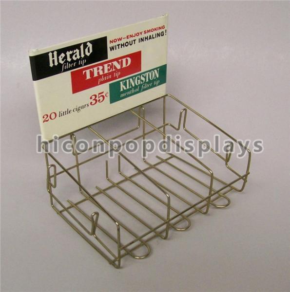Retail Store Custom Metal Display Racks Tinned Vintage Tobacco
