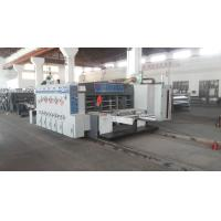 Buy automatic lead edge feeding flexo printing slotting die cutting machine at wholesale prices