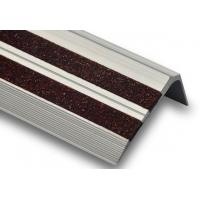 Quality Residential building concrete metal nonslip interior carborundum stair treads and nosings for sale