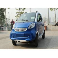 Quality Blue Color Mini Electric Car Family 2200 W With 3 Seats 2400*1270*1500mm for sale