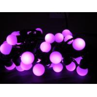 Quality Pink LED Ball String Light for sale