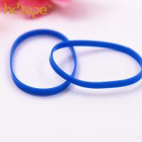 Custom colorful eco-friendly plastic tpu elastic hair rubber band