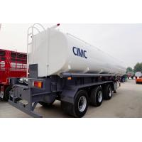 Quality CIMC cartoon steel stainless steel fuel oil tank tanker trailer of  factory for sale