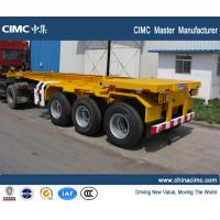 Quality CIMC manufacturer shipping container trailer , 20ft container trailer for sale