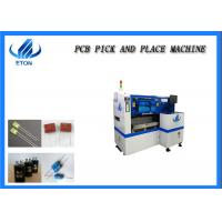 China Full Automatic Pick And Place Machine PCB Board Assembly LED Light IC 40000cph on sale