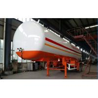 Quality Double BPW/FUWA axles 17tons bulk road transported lpg gas tank, propane gas trailer for sale