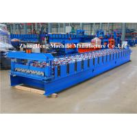 Quality C10 Metal Sheet Forming Machine Roll Former Machine For Warehouses Roof Panel for sale