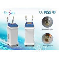 Quality Thermagic RF microneedle machine two different handles for any skin treatment for sale
