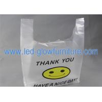 Quality Eco Friendly Plastic Shopping Vest Bags, Manufacture Vest Biodegradable Plastic for sale