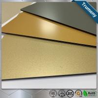 Quality Decoration Stainless Steel Composite Panel High Grade Color Painted For Fireproof for sale