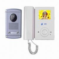 Quality Doorbell Intercom System with Remote Unlocking Function, Supports 2 Indoor Monitors for sale