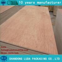 Quality Luda 18mm birch plywood for furniture grade E1 glue white birch plywood for India market for sale