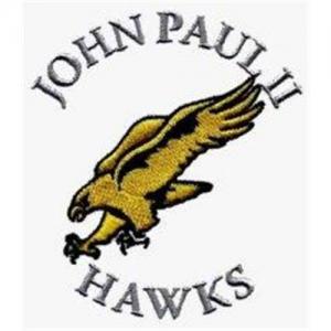 China Custom designs for Embroidery Digitizing Fly eagle John Paul Hawks WCD11303 on sale