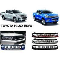 Quality Upgrade Front Grille with Daytime Running Light for Toyota Hilux Revo 2015 2016 for sale