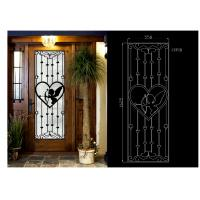 China OEM High Level Inlaid Door Glass for Building Decorative Art Glass Sound Insulation on sale