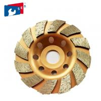 Quality 125mm Turbo Diamond Masonry Grinding Cup Wheel with Alloy Bond for General Purpose for sale