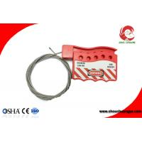 Quality Retractable Adjustable Stainless Steel Insulated Type Safety Cable Lockouts For Sale for sale