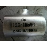 Quality 12Cr1MoVG OD 273 * 168  Alloy steel pressure vessel tee tube fittings for sale
