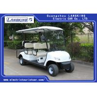 Quality White color 48V /3KW DC motor Electric Golf Carts With 6 Seats / China Controller Easy Operated/Electric club car for sale