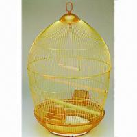 Quality Bird Cage, Made of Wire and Plastic  for sale