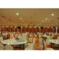 Folding Partition Walls , Acoustic Movable Partition For Banquet Wedding Facility