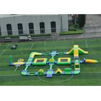 Quality Giant Safety Ultimate Inflatable Floating Water Park For Entertainment for sale