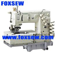 Quality 4-needle flat-bed double chain-stitch machine for waistband FX1508PR for sale