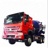 China HOWO Concrete Mixer Truck 6x4 10 Wheels Truck Concrete Mixer Vehicle on sale