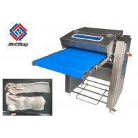Quality Fully Automatic Pork Skin Remove Cutting Machine / Pig Meat Peeling Machine for sale
