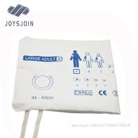 Quality disposable NIBP cuff adult medical blood pressure cuff dual/single tobe for sale