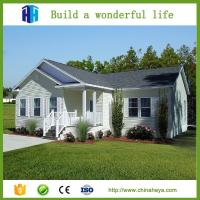 Quality Beautiful appearance steel structure prefabricated homes luxury villa for sale
