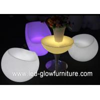 Quality High Capacity led illuminated furniture / tables / chairs for bar , cafes and party for sale