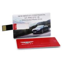China Credit Business Card USB Drive Flash Drive Memory Stick 4GB-32GB Colorful Print on sale