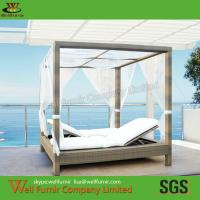 China PE Wicker Rattan Chaise Lounge, Outdoor Chaise Lounge, Rattan Garden Furniture, on sale