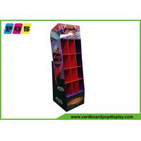 Quality Point Of Sales PDQ Retail Display Custom Corrugated With 12 Pockets POC040 for sale