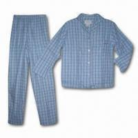 Quality 100% Cotton Printed Flannel Pajamas, Comes in S to XXL for sale