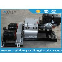 50KN Double Drum Fast Speed Winch Cable Pulling and Laying with Gasoline Engine