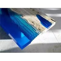 China Ultra clear countertop table top river table-Crystal Epoxy Resin -P128 on sale