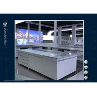 Chemical Resistant Grey Modular Laboratory Furniture With