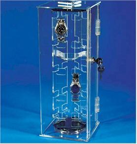 Quality acrylic watch display for sale